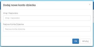Dodaj konto dziecka - ZdobywcyWiedzy.pl