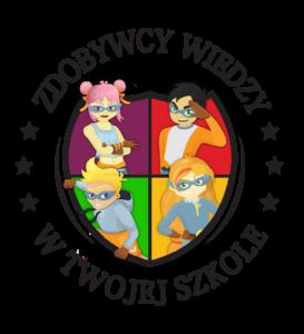 Logo programu Zdobywcy Wiedzy w Twojej Szkole PLUS