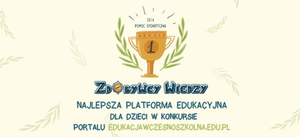 Zdobywcy Wiedzy - zwycięzcy konkursu Pomoc Dydaktyczna 2016
